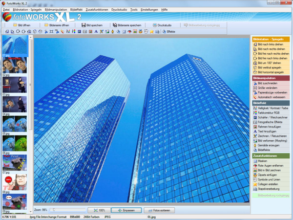 Click to view FotoWorks XL 2 screenshots