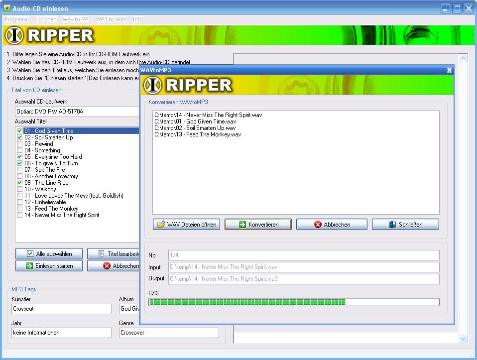 1X-RIPPER full screenshot