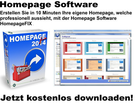 Homepageerstellung